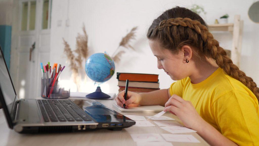Online primary school maths